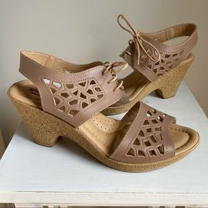 Spring Step Lamay sandals leather size 9
